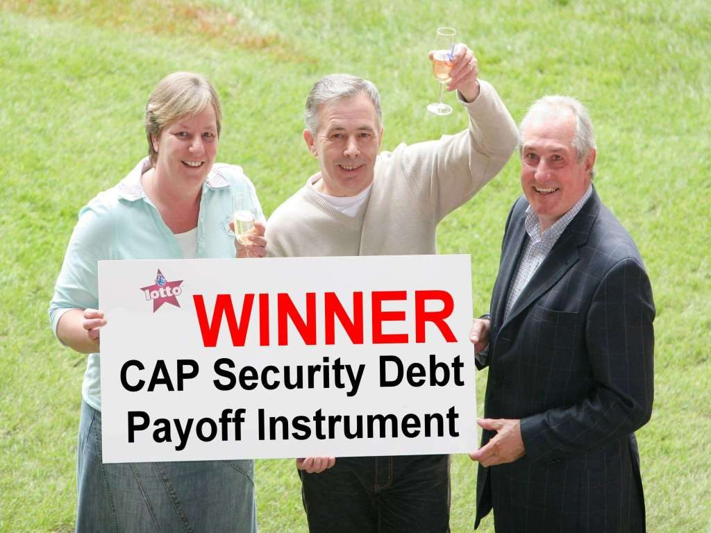 lotto winner debt paid in full